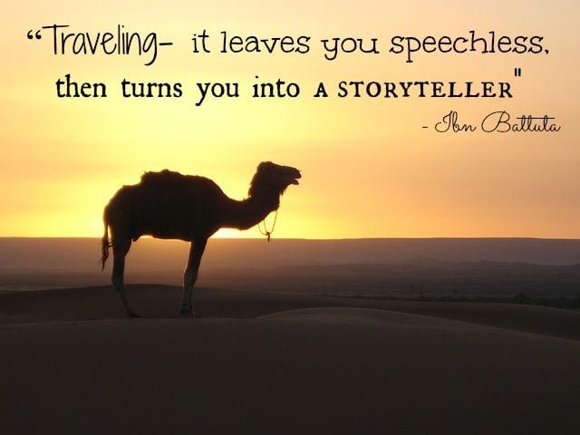 Citazione narrazione by takenbythewind.com