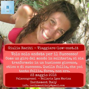giulia raciti incitement